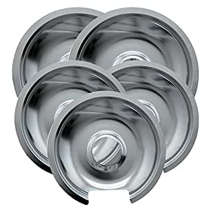 Amazon Com Range Kleen 5 Piece Drip Pan Style D Fits