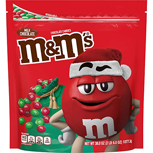 M&M's Milk Chocolate Red & Green Christmas