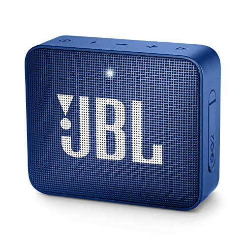 JBL GO 2 Portable Bluetooth Waterproof Speaker (Deep Sea Blue) from JBL