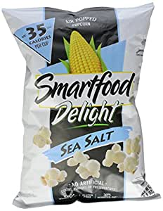 Smartfood Delights Sea Salt, 5.5 oz