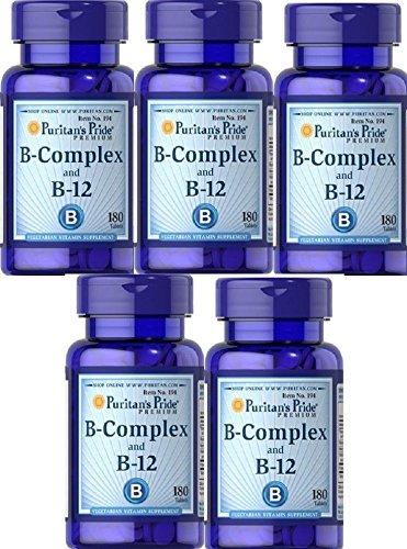 5 VITAMINA B12 Y B COMPLEX 180 COMPRIMIDOS (MEMORIA Y STRESS)
