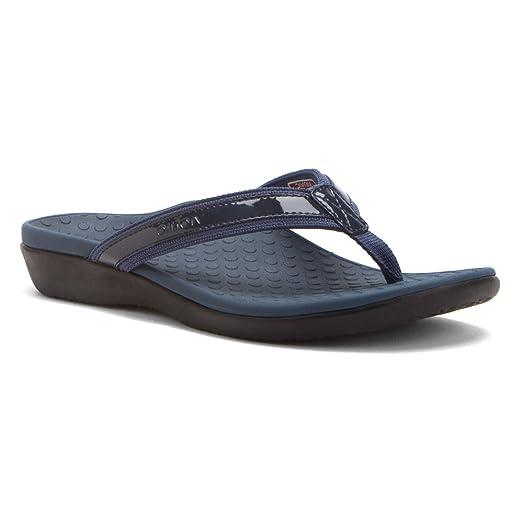 Vionic by Orthaheel Womens Tide II Sandal Navy Size 10