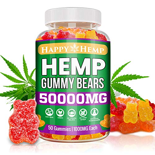 Hemp-Gummies-for-Pain-and-Anxiety-50000mg-Organic-Omega-3-6-9-All-Natural-Stress-Relief-Premium-Extract-Sleep-Made-in-USA-Mood-Immunity-Support