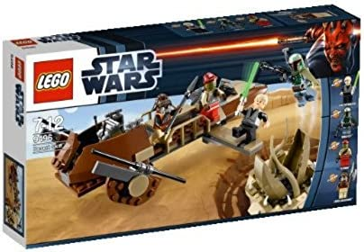 LEGO Star Wars Minifigures of Lando Calrissian in sail Barge Disguise