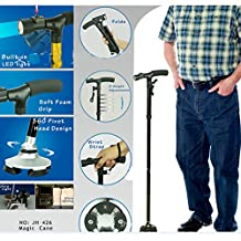 Lopkey Expandable Walking Cane Swords Walking Poles for Old