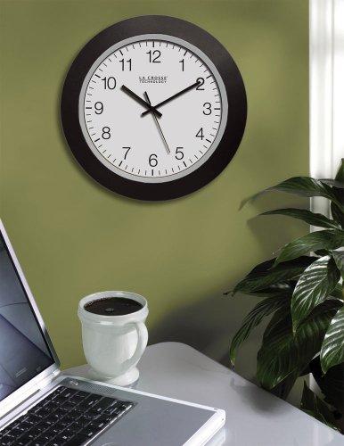 La Crosse 10 Inch Clock - WT-3102B