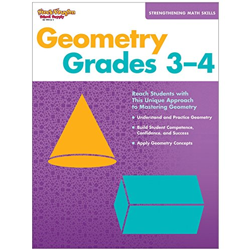 Strengthening Math Skills: Geometry: Reproducible Grades 3-4