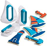 Cuisipro Cookie Cutter Set - Nautical - 74713103