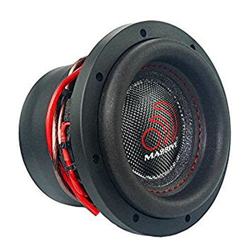 Massive Audio HippoXL84-8 Inch Car Audio 700 Watt Hippo Series Competition Subwoofer, Dual 4 Ohm, 2.5 Inch Voice Coil. Sold - Cone Poly Pyramid Woofer