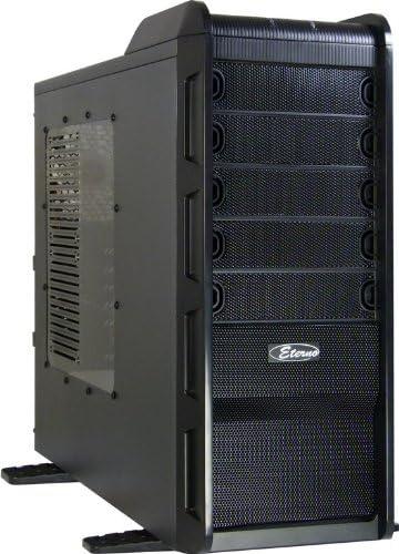 Inter-Tech Q7 Major - Caja de Ordenador (Midi-Tower, PC, ATX, uATX, 1x 120 mm, 80, 92 mm, 1x 120 mm) Negro: Amazon.es: Informática