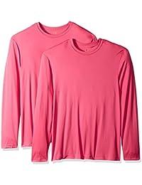 Men's Long Sleeve Cool Dri T-Shirt UPF 50+ (Pack of 2)