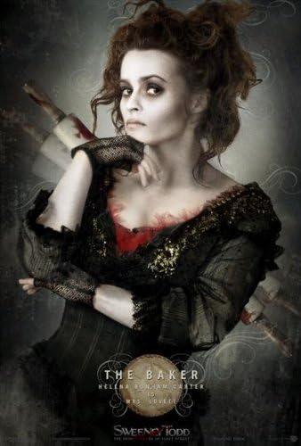 Amazon.com: Sweeney Todd: The Demon Barber of Fleet Street Movie Poster (27  x 40 Inches - 69cm x 102cm) (2007) Style F -(Johnny Depp)(Helena Bonham  Carter)(Alan Rickman)(Sacha Baron Cohen)(Jayne Wisener): Prints: Posters