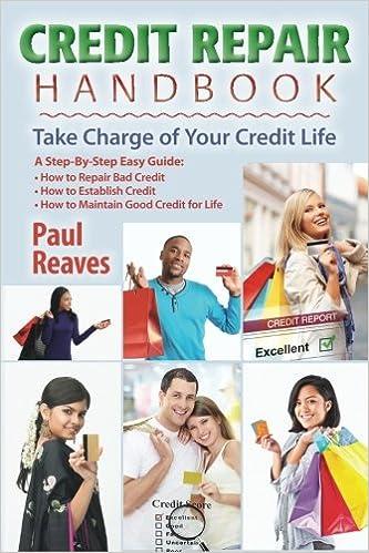 Download gratuiti di audiolibri per lettori mp3 Credit Repair Handbook: Take Charge of Your Credit Life 1466345667 in Italian PDF CHM ePub