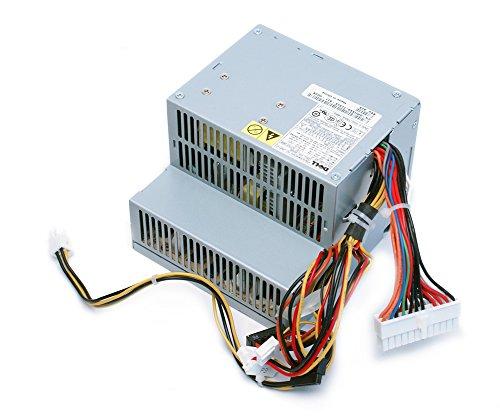240 Dell Dimension Pin - Genuine Dell 280W Desktop Optiplex GX520, GX620, 740, 745, 755, 210L, 320, 330, Dimension C521, 3100C, New Style GX280, Power Supply Unit PSU