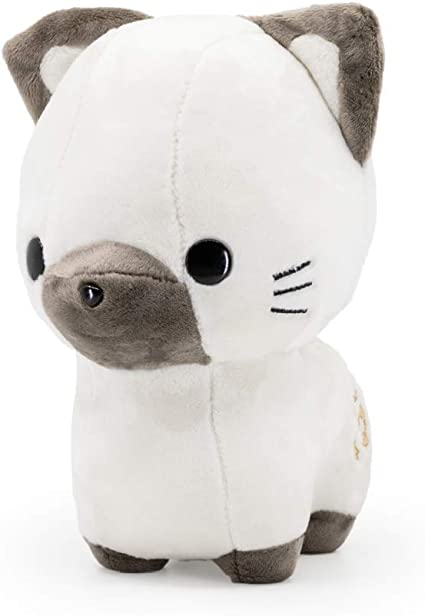 Giant Shark Plush, Amazon Com Bellzi Siamese Cat Cute Stuffed Animal Plush Toy Adorable Brown And White Pet Kitty Plushies And Gifts Perfect Present For Kids Babies Toddlers Sami Toys Games