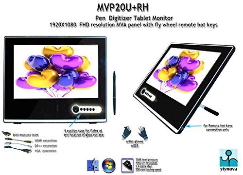 Yiynova MVP20U+RH 19.5インチ フルHD 液晶 ペンタブレット モニター VESAスタンド (Windows Mac Linux対応)