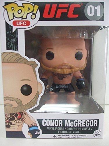 Funko POP 01 UFC - CONOR McGREGOR in Black Trunks with DETHRONE logo UFC 194 EXCLUSIVE IRISH THE NOTORIOUS