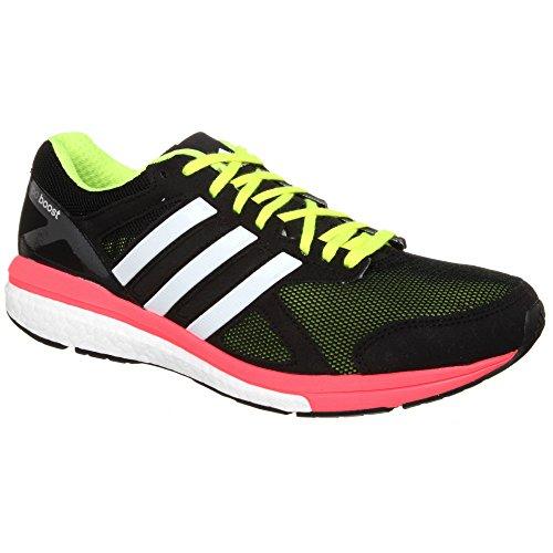 Cheap adidas Mens Adizero Tempo Boost 7 Running Sneaker Shoe, Midnight Grey/Solar Red/Raw Ochre, 11.5