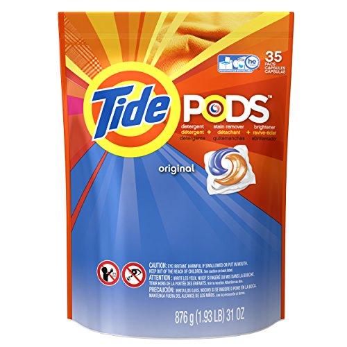 Tide Pods Laundry Detergent Pacs  Original  35 Count
