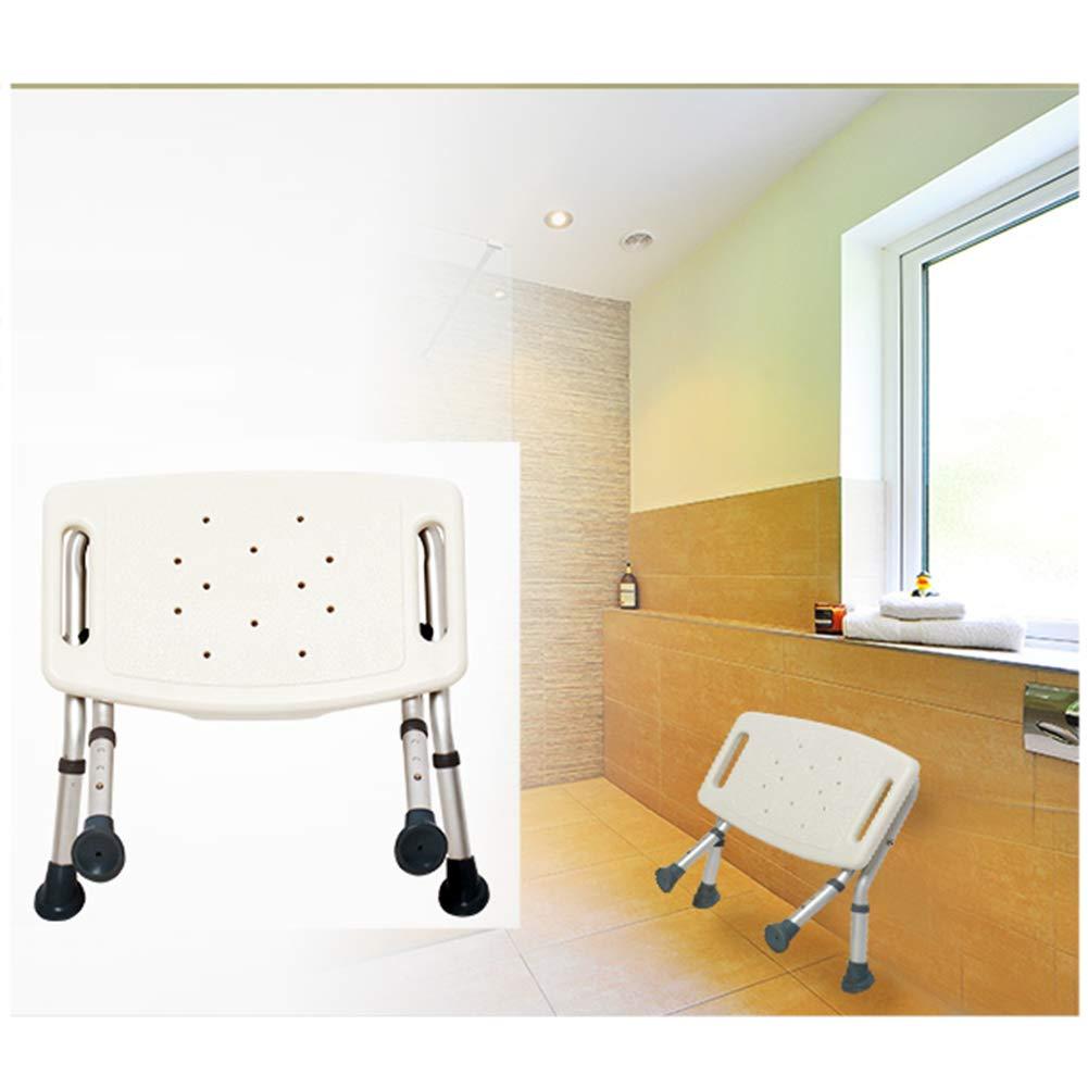 WYRX Bathing Stool Femmes Enceintes Bathing Personnes /âg/ées Bath Chair Pliant T/élescopique Anti-Slip Salle De Bains Douche Tabouret De Pliage