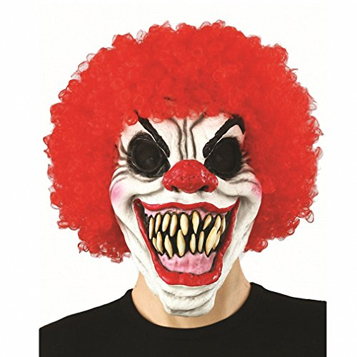 Toy Joker Clown Costume Mask Creepy Evil Scary