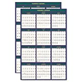 HOD391 - House Of Doolittle 4 Seasons Reversible/Erasable Business/Academic Calendar