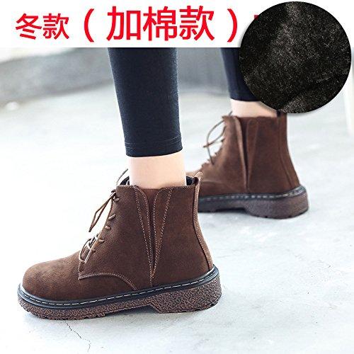 Herbst rutschfeste Martin mit FLYRCX Damen und und und Winter dicke Samt Fashion warme Schuhe stiefel dnwqqg1Rx