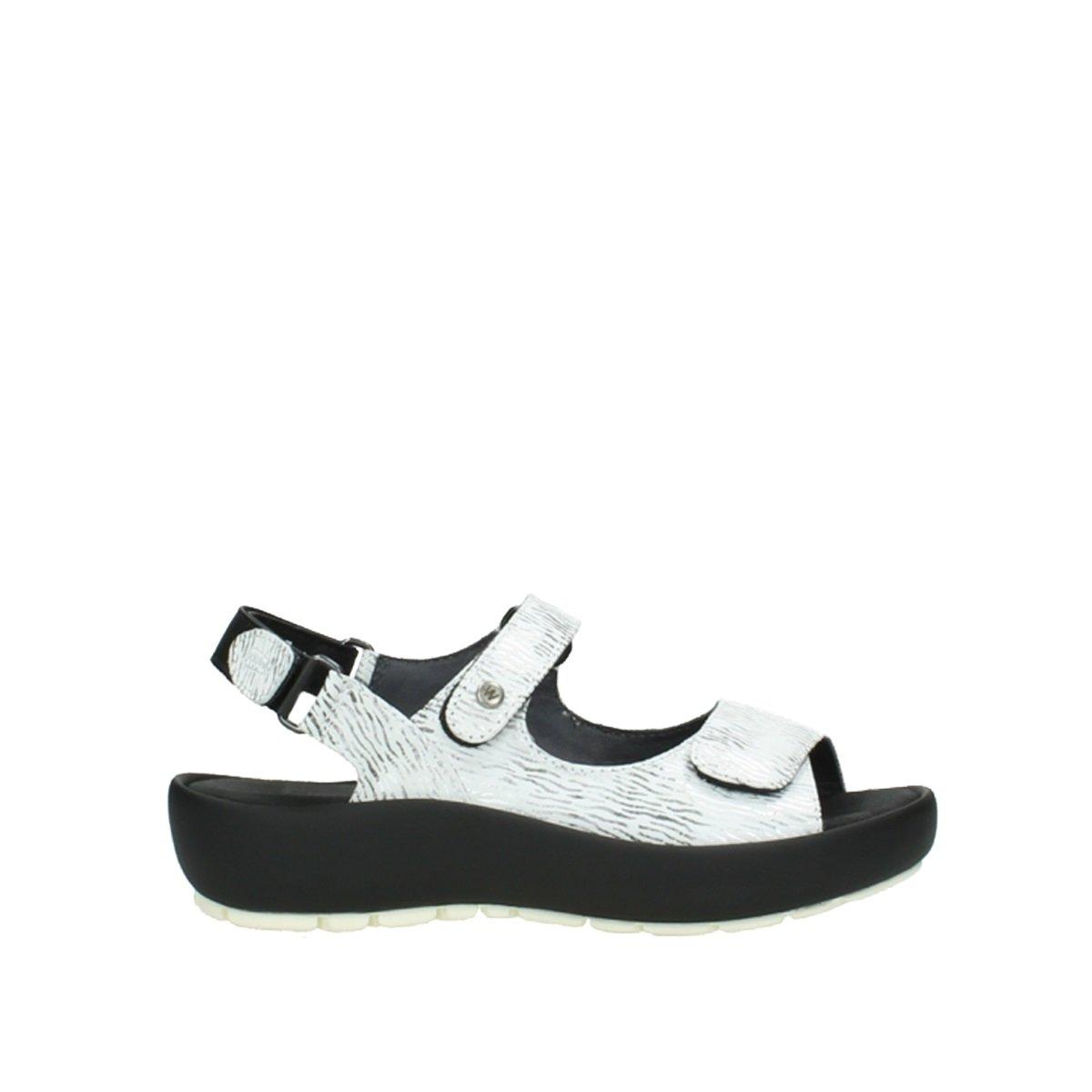 Wolky Comfort Rio B06XDKHJYX 44 EU|70110 White/Black Canal Leather