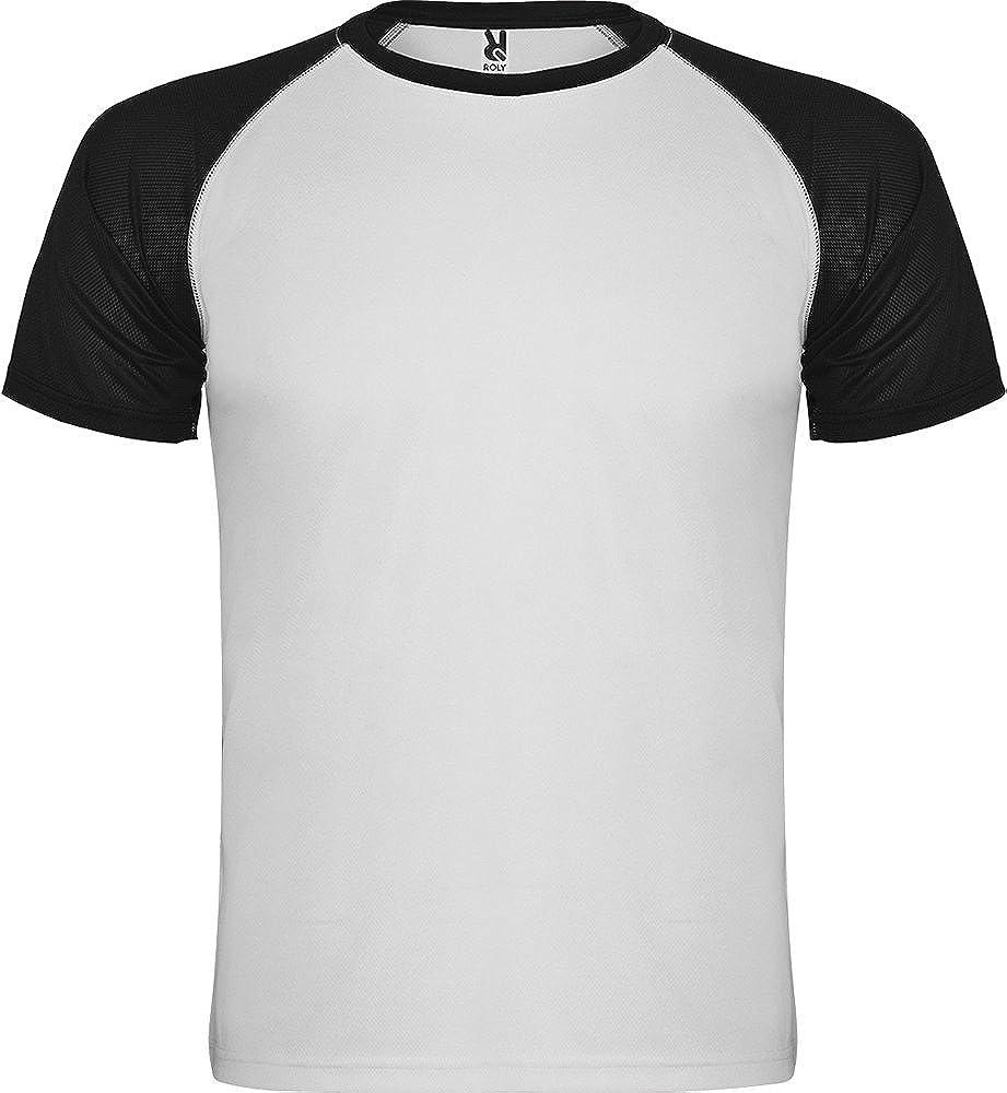 Camiseta Indianapolis 6650 Roly T/écnica Hombre Manga Corta