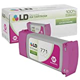 LD Remanufactured Replacement for Hewlett Packard CE039A (HP 771) Magenta Ink Cartridge for use in HP DesignJet Z6200, and Z9000 Printers