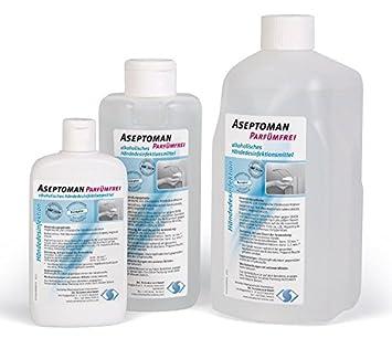 Aseptoman Parfumfrei Handedesinfektion 150 Ml Kittelflasche