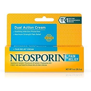Neosporin + Pain Relief Cream Maximum Strength 1 oz