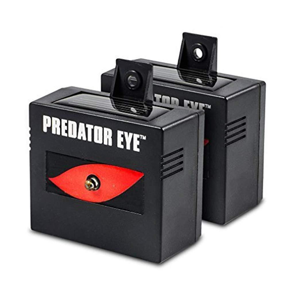 Aspectek Predator Eye Night Time Solar Powered Animal Control Repeller - 2 Pack, Waterproof, Pest Control, Nocturnal Animals, Outdoor HR191A11