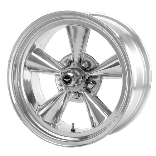 American Racing Hot Rod TTO VN109 Polished Wheel (15x7