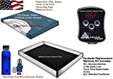 California King 95% waveless waterbed mattress with 12 mil liner, digital heater & Fill kit with conditioner