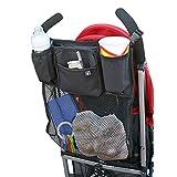 J. L. Childress Cups 'N Cargo Stroller Organizer, Black, 1 Pack