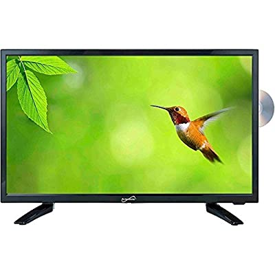 "Supersonic SC-1912 19"" TV/DVD Combo - HDTV 1080p - 16:9 - 1366 x 768 - 720p - LED - ATSC - NTSC - 170Â¿ / 160Â¿ - HDMI - USB - SC-1912"