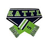 ChoKoLids Football Team City Name Knitted Scarves - 21 Cities (Seattle)
