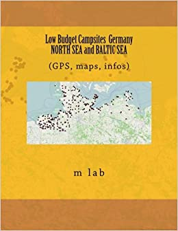 Map Of Germany North Sea.Low Budget Campsites Germany North Sea And Baltic Sea Gps Maps