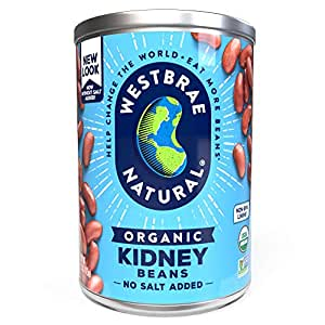 Amazon Com Westbrae Natural Organic Kidney Beans 15 Ounce Cans Pack Of 12 Kidney Beans Produce Grocery Gourmet Food