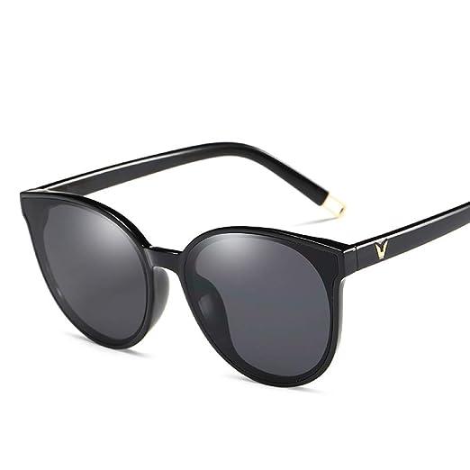 Yangjing-hl Caja Transparente Gafas de Sol Sirena Moda ...