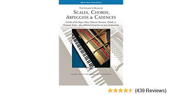 Scales Chords Arpeggios Cadences Complete Book Piano