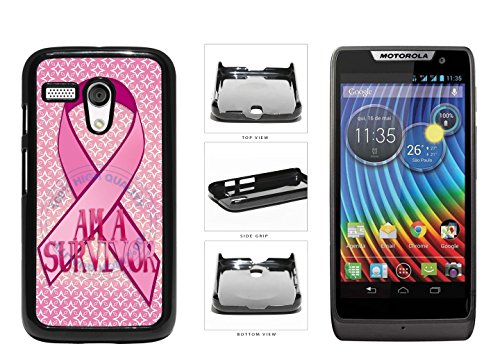 I'm A Survivor Plastic Phone Case Back Cover For Motorola Moto G comes with Security Tag and MyPhone Designs(TM) Cleaning Cloth