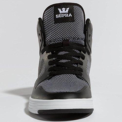 white Round Synthetic Black Skate Men 0 Black Toe Vaider Supra 2 Shoe Black I1Yp7p