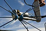 The mascot for the German Air Force's Ground Radio Tower supervises the equipment installation durin