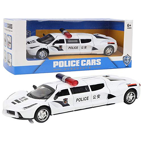 Extended Car Toy Alloy Car Model Toy with 4 Doors for Kids Children Car Toy