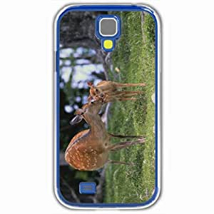 Personalized Samsung Galaxy S4 SIV 9500 Back Cover Diy PC Hard Shell Case Deer White
