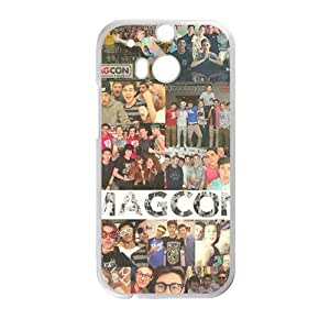Magcon people gather picture Cell Phone Case for HTC One M8 by ruishername