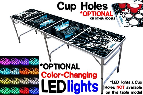 8 Foot Table OPTIONAL Lights Surface