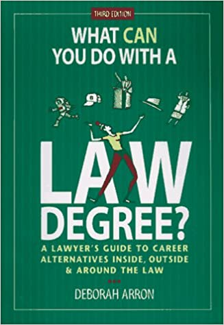 What can you do with a LAW degree? besides LAW?